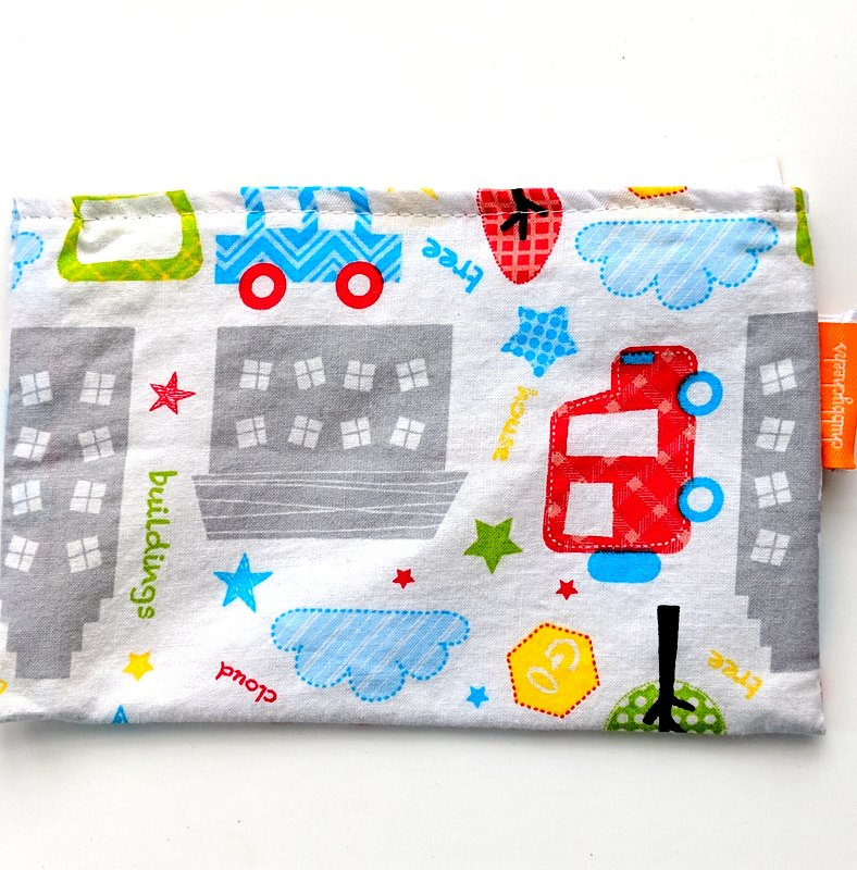Snack Bag Vehicle Print