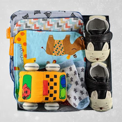 Newborn Baby Gift Crib Shoes
