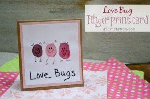 Valentine Card Idea Love Bugs