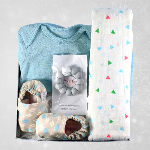 Baby Blue Girl Gift Box