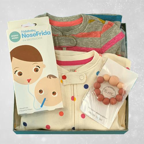 Baby Basket Gift Box Baby Essentials