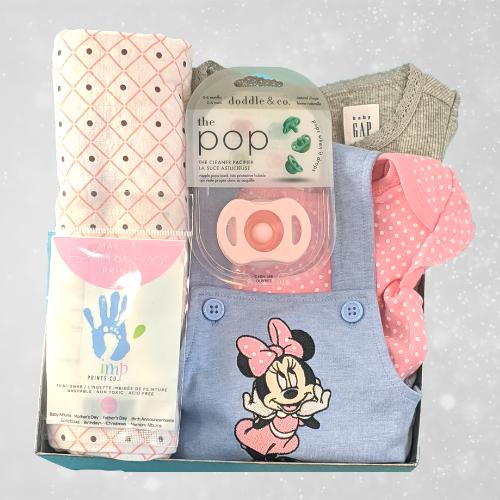 Baby Girl Minnie Gift Box
