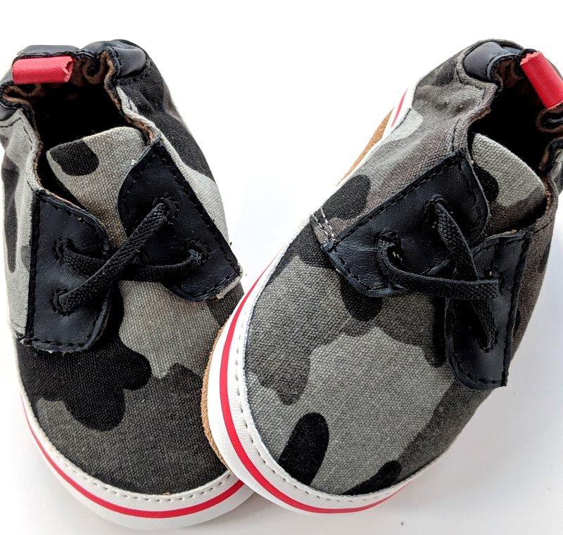 Robeez Crib Shoe Camo Baby Boy Gift Idea