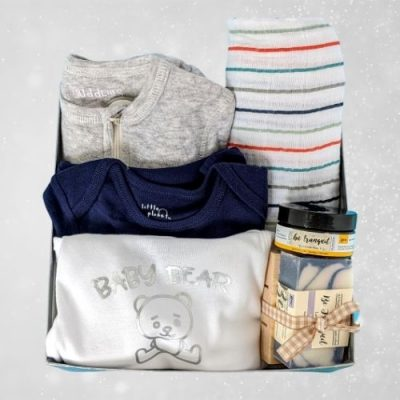 Baby Bear Baby Boy Gift Set