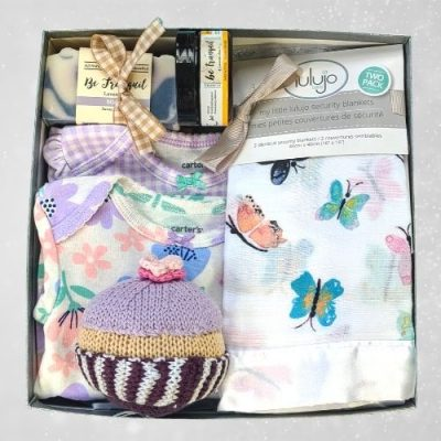 Baby Girl Butterfly Themed Gift