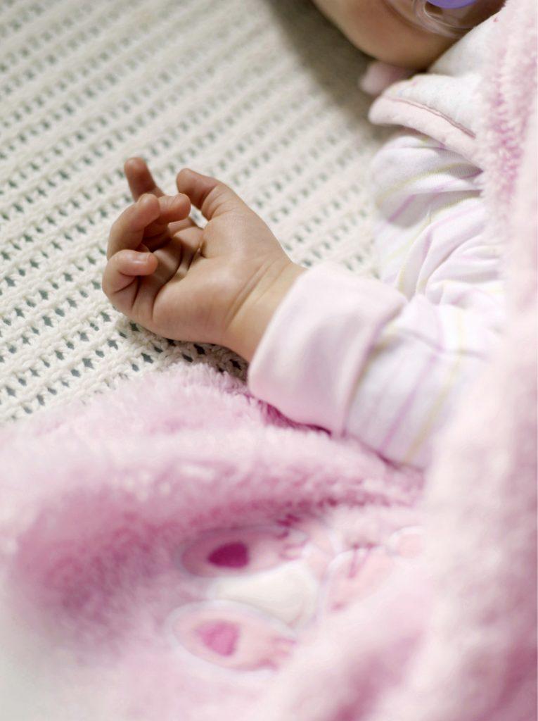 Baby Sleeping Security Blanket