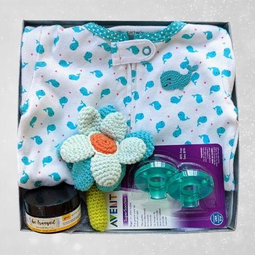 Whale Baby Girl Gift