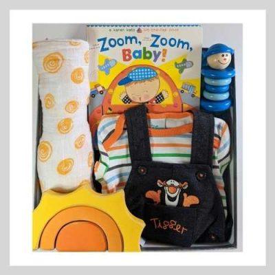 Baby Boy Tigger Gift Box